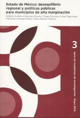 Libro: Estado de México: desequilibrio regional y políticas públicas para municipios de altamarginación