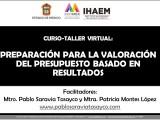 Taller: PRESUPUESTO BASADO ENRESULTADOS